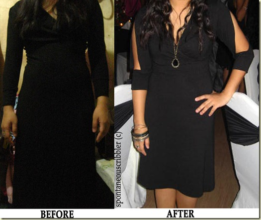 Dress - Before and After